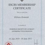 2011 European Society of Cataract and Refractive Surgeons