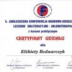 1997 Leczenie obliteracyjne - skleroterapia