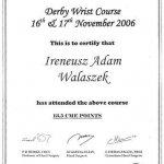 2006 Derby Wrist Course: Ireneusz Walaszek