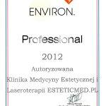 2012 Professional 2012 Autoryzowana Klinika Medycyny Estetycznej i Laseroterapii ESTETICMED.PL