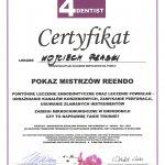 2012 Uczestnictwo w kursie pt.: Pokaz mistrzów reendo