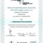 2008 Maciej Charaziński - konferencja naukowo-szkoleniowa z zakresu chirurgii plastycznej piersi i twarzy