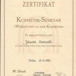 1996 Seminarium Kosmetyczne