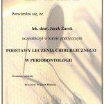 2007 Kurs: Podstawy leczenia chirurgicznego w periodontologii