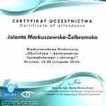 2010 Okulistyka - kontrowersje farmakoterapii i chirurgii
