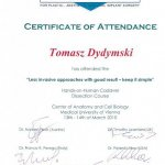 2010 Certificate of Attendance in