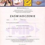 2009 Uczestnictwo w kursie pt.: Regeneracyjne leczenie przyzębia