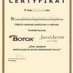 2008 Dr Aneta Majchrzak-Habryka - Botox, Juvederm