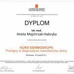 2013 Dr Aneta Majchrzak-Habryka - dermatoskopia