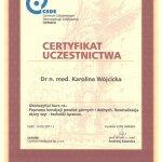 2011 Certyfikat za ukończenie kursu