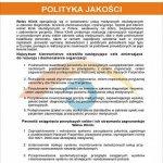 2008 System zarządzania jakością wg normy ISO 9001:2008