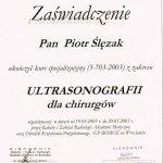 2003 Ultrasonografia dla chirurgów
