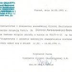 1991 Diagnostyka i leczenie operacyjne odwarstwienia siatkówki