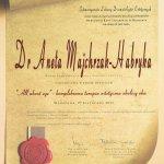 2011 Dr Aneta Majchrzak-Habryka - All About Eye