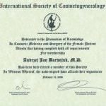 2006 Certyfikat członkostwa