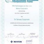 2010 Konferencja naukowo-szkoleniowa z zakresu chirurgi plastycznej piersi.