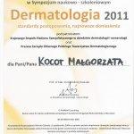 2011 Dr Małgorzata Kocot - Dermatologia