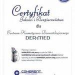 2013 Certyfikat Jakości i Bezpieczeństwa