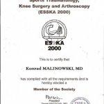 2006 European Society of Sports Traumatology, Knee Surgery and Arthroscopy