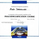 1997 Phacoemulsification course
