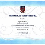 2005 62. Zjazd Towarzystwa Chirurgów Polskich
