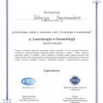 2012 Patrycja Szymańska - warsztat: laseroterapia