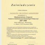 2006 Kongres Stomatologii Praktycznej