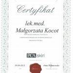 2013 Dr Małgorzata Kocot - PCA Skin