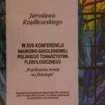 2005 Certyfikat uczestnictwa w XVII Konferencji Naukowo-Szkoleniowej Polskiego Towarzystwa Flebologicznego