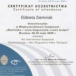 2009 Okulistyka - nowa diagnostyka