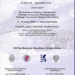 2006 XIX Konferencja Naukowo-Szkoleniowa