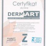 Certyfikat zgodności ze światowymi standardami protekcji skóry podczas zabiegów laserowych