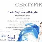 2013 Dr Aneta Majchrzak-Habryka - Aqualyx