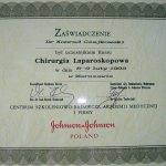 1993 Zaświadczenie uczestnictwa w kursie