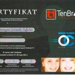 2011 Leczenie ortodontyczne zamkami samoligaturującymi TenBrook