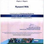 2014 V Konferencja Naukowa - Chirurgia 2014 - co nowego?