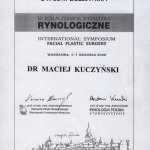 2008 V KRAJOWE FORUM RYNOLOGICZNE International Symposium Facial Plastic Surgery