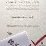 2014 Firma Godna Zaufania