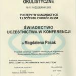 2009 Postępy w diagnostyce i leczeniu chorób oczu