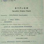 1990 Dyplom Specjalisty Drugiego Stopnia