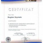 2008 Dr Bogdan Szymala - warsztaty operacyjne z zakresu zaawansowanej endoskopii i uroginekologii