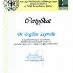 2011 Dr Bogdan Szymala - USG w zakresie położnictwa i ginekologii