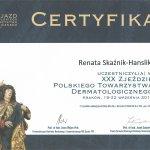XXX Zjazd Polskiego Towarzystwa Dermatologicznego. Kraków