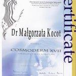 2011 Dr Małgorzata Kocot - Cosmoderm