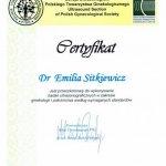 2011 Dr Emilia Sitkiewicz - USG w zakresie położnictwa i ginekologii