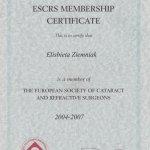 2007 European Society of Cataract and Refractive Surgeons