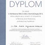 2013 Dr Aneta Majchrzak-Habryka - Tete-a-tete z dermatologią
