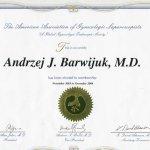 2004 Certfikat członkostwa