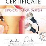 2012 Agata Nowak - szkolenie Lipo Cavitation System