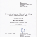 2009 International Congress of Corneal Cross Linking